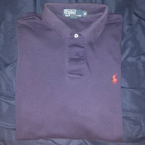 Navy blue Polo Ralph Lauren soft to touch polo